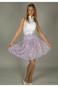 Летняя юбка цветочной расцветки | 244-8