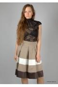 Изящная юбка до колена | 236-ameli3