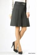 Чёрная юбка в складку | 219-55/dorla