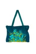 Тёмно-зелёная женская сумка | ДС-1281