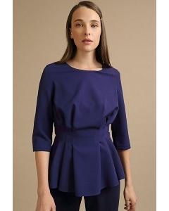 Приталенная блузка с защипами Emka B2453/play