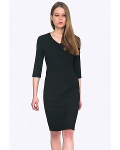 Чёрное платье Emka PL758/almaza