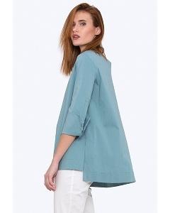 Свободная блузка с асимметричным низом Emka b 2210/esmira