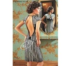 Платье V&V с открытой спиной