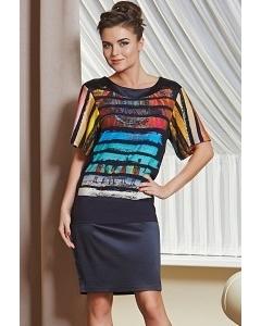 Летнее платье TopDesign Premium PA4 58