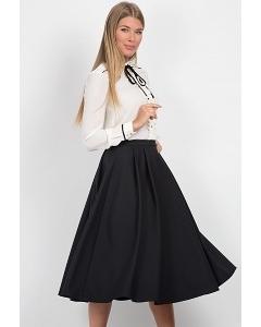 Чёрная юбка Emka Fashion 557-doli