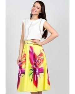 Летняя юбка Emka Fashion 306-passion