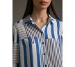Рубашка с геометрическим принтом Emka B2465/found