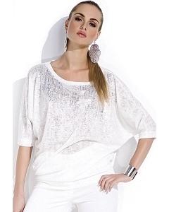 Блузка молочного цвета Zaps Tanita