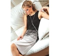 Недорогое черно-белое платье V&V