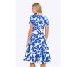 купить сине-белое платье
