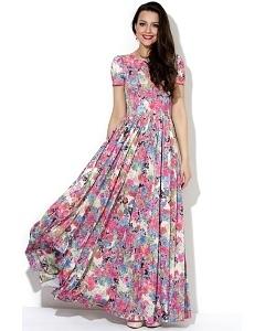 Длинное платье в пол Donna Saggia DSP-147-89t