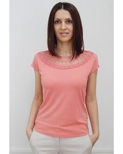 Блузка кораллового цвета Sunwear N49-2