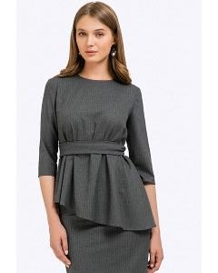 Блузка с асимметричным низом Emka B2345/kigali