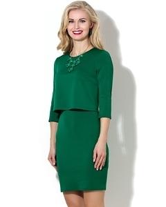 Платье с эффектом юбки и топа Donna Saggia DSP-187-73t