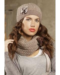 Комплект шапка и шарф SuperShapka Тигуана