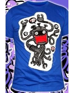 Мужская футболка ручной работы Miracle Robot