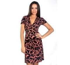 Трикотажное платье Donna Saggia