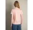 Нежно-розовая футболка из хлопка Emka B2579/lisis