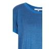 Синяя меланжевая блузка Zaps Pulla