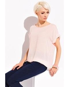 Персиковая блузка Zaps Sandra