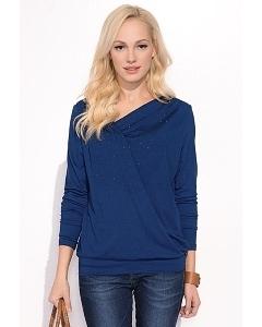 Блузка синего цвета Zaps Lorita