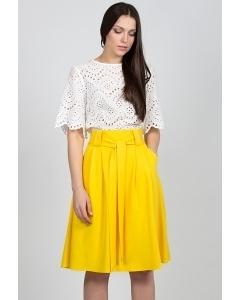 Жёлтая юбка Emka Fashion 247-filisi