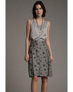 Хлопковая юбка в горох Emka S896/belfast
