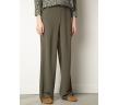 Свободные брюки Палаццо цвета хаки Emka D167/devid