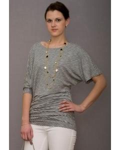 Платье-туника в полоску | П205-1538