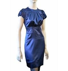 Платье Golub из атласа