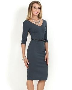 Платье с v-образным вырезом Donna Saggia DSP-156-74t