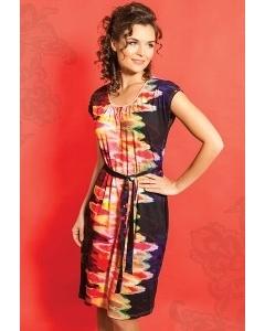 Платье из трикотажа TopDesign A5 065