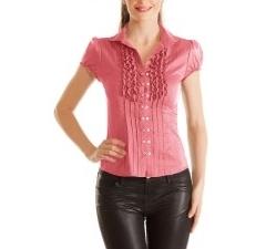 Качественная блузка рубашечного кроя
