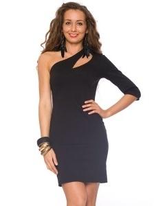 Платье на одно плечо | DSP-71-4t