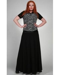 Комбинированное платье Chertina&Durre