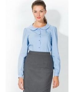 Блузка рубашечного кроя   4665/1