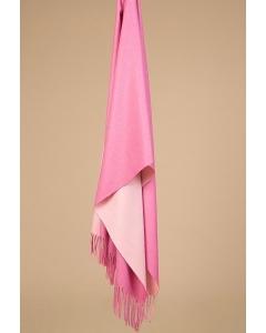 Бледно-розовый палантин Emka A001/SCARF