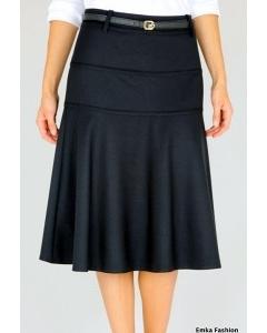 Черная юбка Emka-fashion 390-sandra