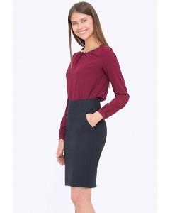Классическая юбка прямого кроя Emka 212/malika
