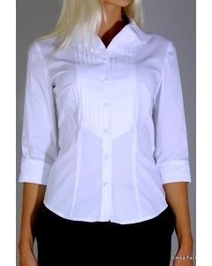 Белая блузка Emka Fashion B002/01