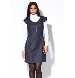 Короткое платье на молнии