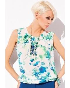 Летняя блуза без рукавов Zaps Carolyn