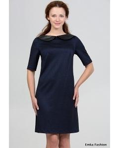 Платье синего цвета Emka Fashion 1008-frida