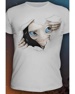 Мужская футболка They are not alone (Светится в темноте и уф.)