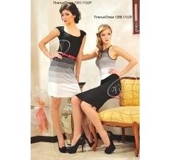 Черно-белое платье V&V