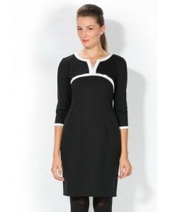 Черное-белое платье Remix