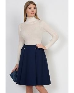 Тёмно-синяя юбка Emka Fashion 576-malena