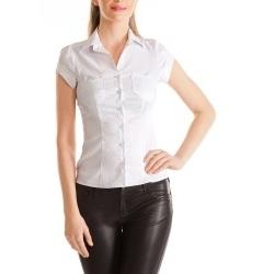 Женская блузка классического кроя