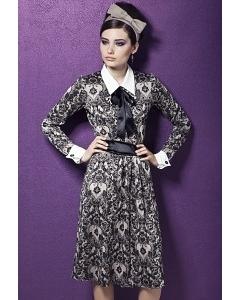Платье с рубашечным воротником TopDesign Premium PB3 29